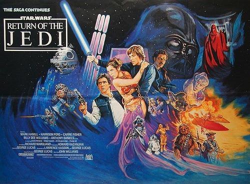 Return of the Jedi, original film poster