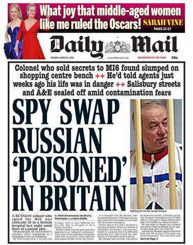 Sergei Skripal poisoning