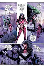 Spiderwoman #1 panel (2015)