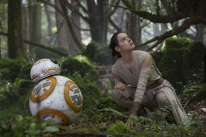 Rey and BB8: The Force Awakens
