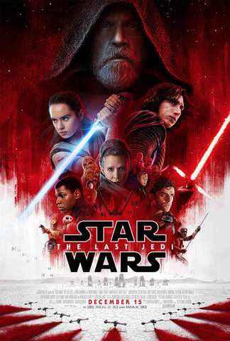 The Last Jedi: poster