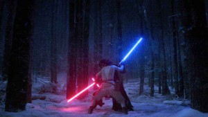 Rey vs Kylo: The Force Awakens