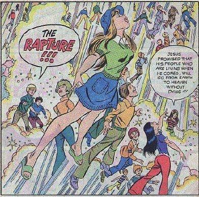 The Rapture, cartoon