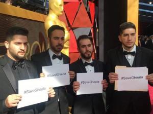 Syrian White Helmets at the Oscars