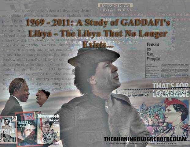 The Story of Gaddafi's Libya: essay