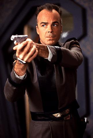 Jerry Doyle as Michael Garibaldi in Babylon 5