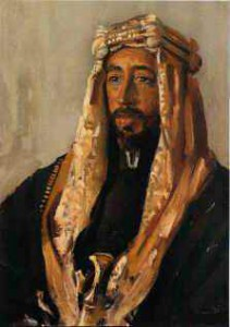 Portrait of Prince Faisal of Mecca