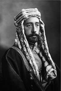 Prince Faisal of Mecca, 1918