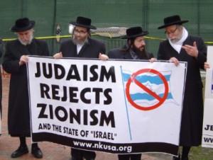 Orthodox Jews against Zionism