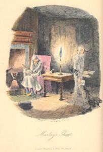 A Christmas Carol, original illustration