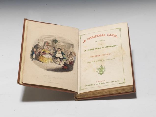 A Christmas Carol, Charles Dickens, Original Manuscript
