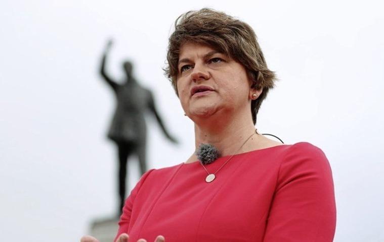 Arlene Foster, DUP leader, Northern Ireland