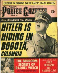 Adolf Hitler death conspiracy
