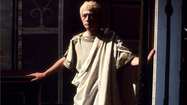 John Hurt as Caligula in 'I Claudius'