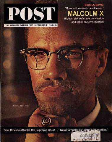 Malcolm X archive press