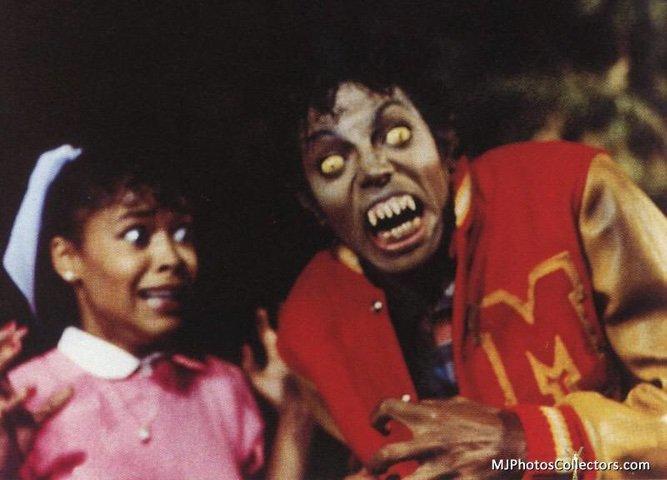 Michael Jackson Thriller monster