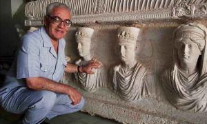 Khaled el-Assad in Palmyra, Syria