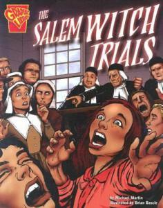 Salem Witch Trials comic book