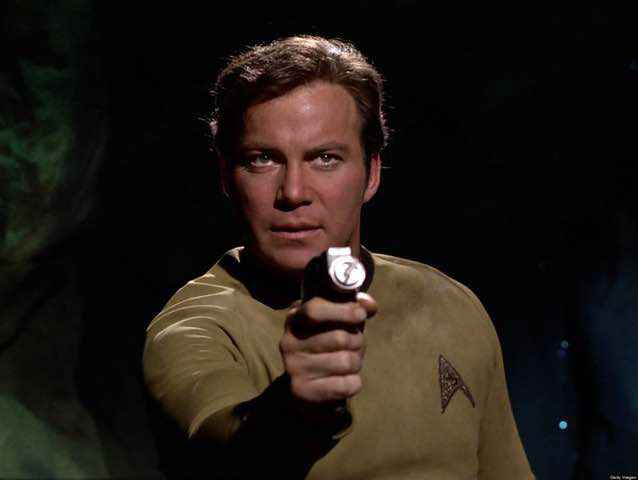William Shatner as Captain Kirk, Star Trek