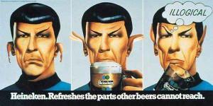 Spock Leonard Nimoy Heineken advert