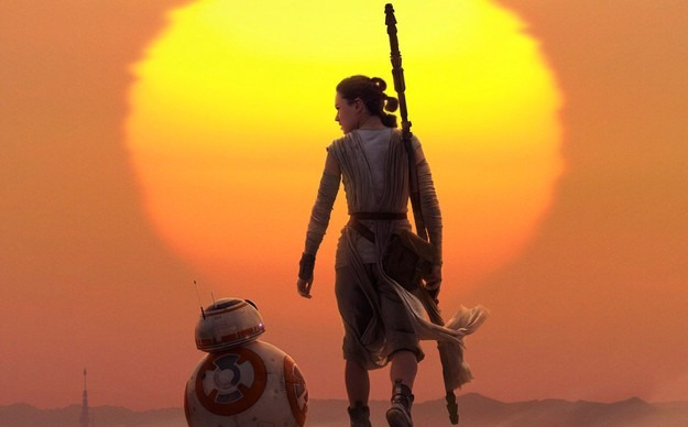 The Force Awakens: Rey BB8