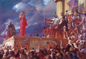 Jesus Brought to Pilate