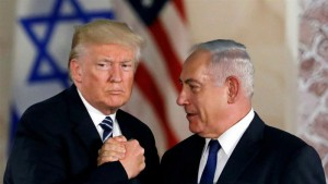 Donald Trump and Benjamin Netanyahu