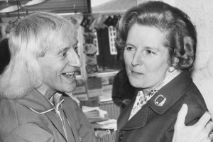 Ted Heath and Margaret Thatcher