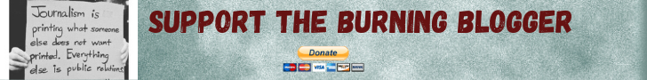Burning Blogger - PayPal Donate