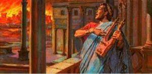 Nero: Fiddling while Rome Burns