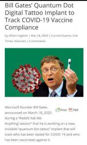 Bill Gates Quantum Dot