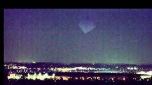 Pyramid UFO over Pentagon, December 2019