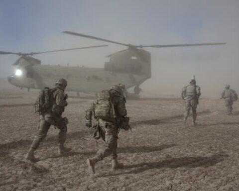 US troops depart Afghanistan