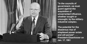 Harry Truman quote about military industrial complex