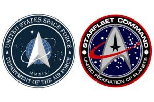 Space Force emblem; Starfleet Command